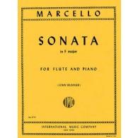 MARCELLO B. SONATE FA MAJEUR FLUTE
