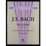 BACH J.S. 6 SUITES SAXOPHONE SOLO