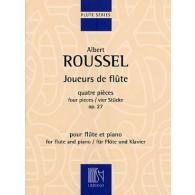 ROUSSEL A. JOUEURS DE FLUTE OP 27 FLUTE