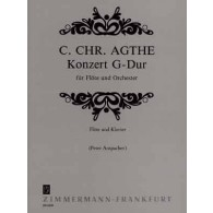 AGTHE C.C. CONCERTO SOL MAJEUR FLUTE