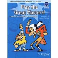 PLAY THE GREAT MASTERS SAXO SIB