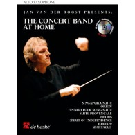 VAN DER ROOST J. THE CONCERT BAND AT HOME SAXO MIB