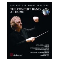 VAN DER ROOST J. THE CONCERT BAND AT HOME TROMBONE