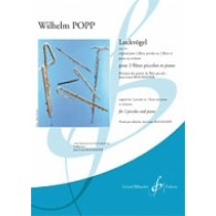 POPP W. LOCKVOGEL OP 49 FLUTES PICCOLOS