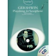 GUEST SPOT GERSHWIN PLAY-ALONG SAXO ALTO