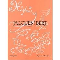IBERT J. HISTOIRES PIANO