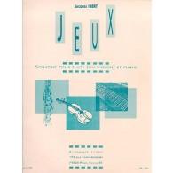 IBERT J. JEUX FLUTE