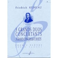 KUHLAU F. GRANDS DUOS OP 87 N°2  FLUTES