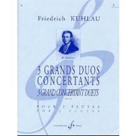 KUHLAU F. GRANDS DUOS OP 87 N°1  FLUTES