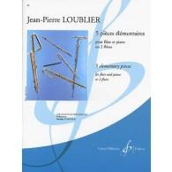 LOUBLIER J.P. PIECES ELEMENTAIRES FLUTES