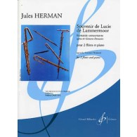 HERMAN J. SOUVENIR DE LUCIE DE LAMMERMOOR FLUTES