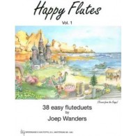 WANDERS J. HAPPY FLUTES VOL 1 DUOS