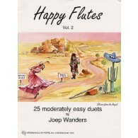 WANDERS J. HAPPY FLUTES VOL 2 DUOS