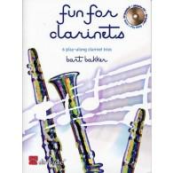 BAKKER B. FUN FOR CLARINETS