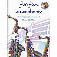BAKKER B. FUN FOR SAXOPHONES