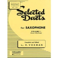 VOXMAN H. SELECTED DUETS VOL 1 SAXOPHONES