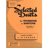 WOXMAN H. SELECTED DUETS VOL 2 TROMBONES