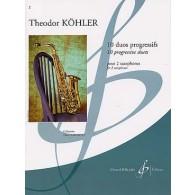 KOHLER T. DUOS PROGRESSIFS SAXOPHONES