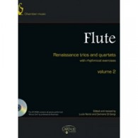 RENAISSANCE TRIOS AND QUARTETS VOL 2 FLUTES