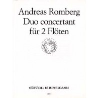 ROMBERG A. DUOS CONCERTANT OP 62 N°2 FLUTES