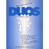 DUOS PIECES CHOISIES 2 FLUTES