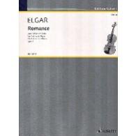 ELGAR E. ROMANCE OP 1 VIOLON