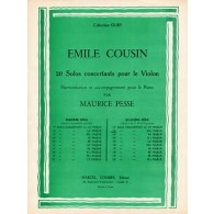 COUSIN E. 12ME SOLO CONCERTANT VIOLON