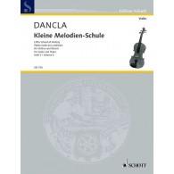DANCLA C. KLEINE MELODIENSCHULE OP 123 VOL 3 VIOLON