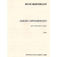 BERTHELOT R. ARIOSO APPASSIONATO VIOLONCELLE