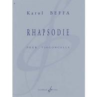 BEFFA K. RHAPSODIE VIOLONCELLE