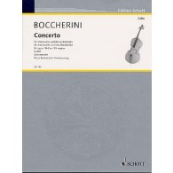 BOCCHERINI L. CONCERTO D MAJOR G 479 VIOLONCELLE