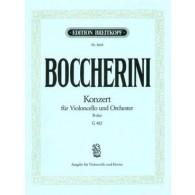 BOCCHERINI L. CONCERTO B MAJOR G 478 VIOLONCELLE