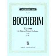 BOCCHERINI L. CONCERTO B MAJOR G 478 VIOLONCELLE