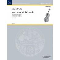 ENESCU G. NOCTURNE ET SALTARELLO VIOLONCELLE