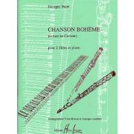 BIZET G. CHANSON DE BOHEME FLUTES