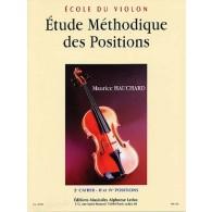 HAUCHARD M. ETUDE METHODIQUE DES POSITIONS 2ME CAHIER VIOLON