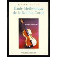 HAUCHARD M. ETUDE METHODIQUE DE LA DOUBLE CORDE VOL 1 VIOLON