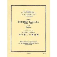 SAMIE A. 20 ETUDES FACILES CLARINETTE