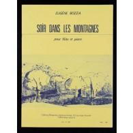BOZZA E. SOIR DANS LES MONTAGNES FLUTE
