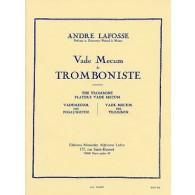 LAFOSSE A. VADE MECUM DU TROMBONISTE