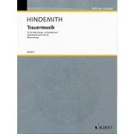 HINDEMITH P. TRAUERMUSIK ALTO
