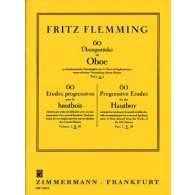 FLEMMING F. 60 ETUDES PROGRESSIVES VOL 2 HAUTBOIS