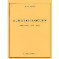 NIVERD L. MUSETTE ET TAMBOURIN HAUTBOIS
