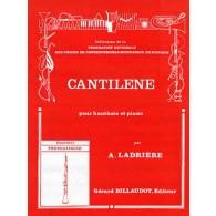 LADRIERE A. CANTILENE HAUTBOIS