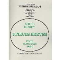 DUREY L. PIECES BREVES HAUTBOIS SOLO