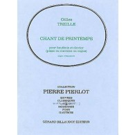 TREILLE G. CHANT DE PRINTEMPS HAUTBOIS