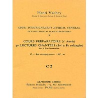 VACHEY H. 40 LECTURES CHANTEES C2