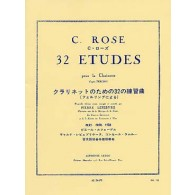 ROSE C. 32 ETUDES CLARINETTE