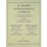 KLOSE H.E. METHODE COMPLETE DE CLARINETTE VOL 2