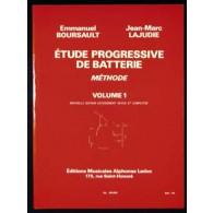 BOURSAULT E./LAJUDIE J.M. METHODE DE BATTERIE VOL 1